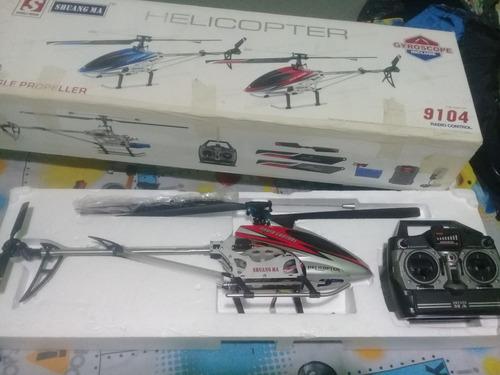 vendo helicoptero solo pro 228 y helicoptero 9104