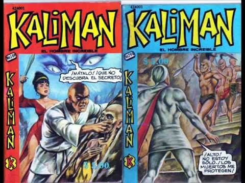 vendo hermosas revistas  de kaliman el hombre increible