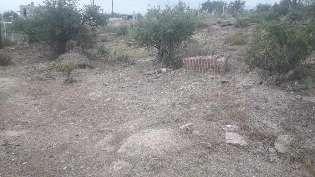 vendo hermoso terreno zona pekos con cimientos y planos