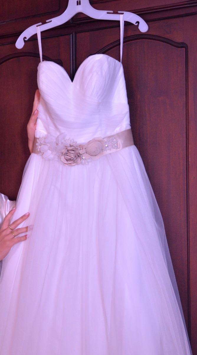 Vendo Hermoso Vestido De Novia (de Diseñador Usa) - U$S 600,00 en ...