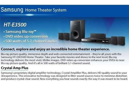 vendo home theater samsung bluray 3d 5.1 500watts