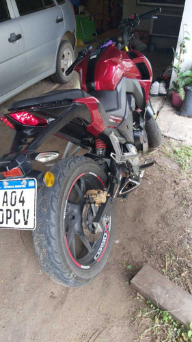 vendo honda cb190r en impecable estado