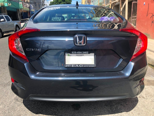 vendo honda civic ex 2017