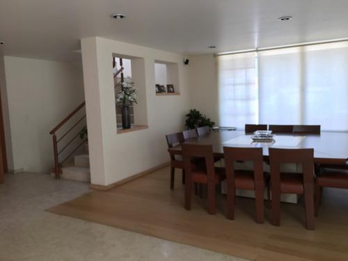 vendo impecable casa en condominio, doble vigilancia. interlomas