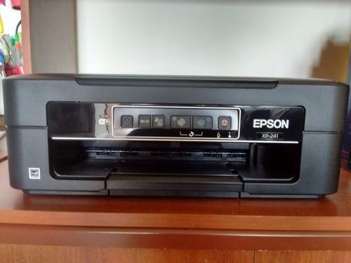 vendo impresora epson xp241 con 4 meses de comprada
