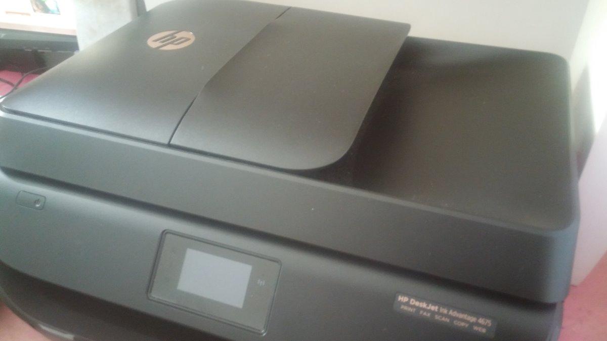Vendo Impresora Hp Deskjet Ink Advantage 4675 Multifuncional S Printer All In One Cargando Zoom