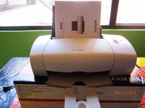 vendo impresora lexmark z647 como nueva