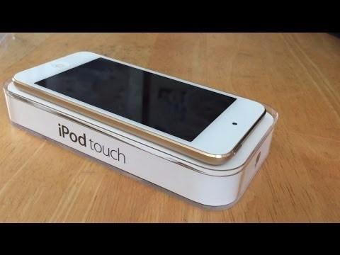 vendo ipod touch 6g dorado nuevo 32 gb en caja
