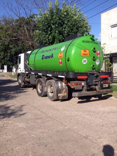 vendo iveco eurocargo balancin con tanque atmosferico