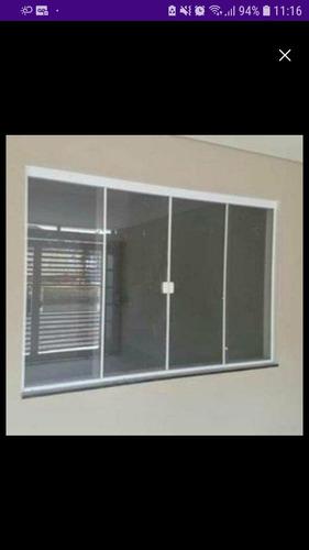 vendo janelão de alumínio