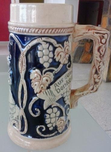 vendo jarra cervecera alemana antigua