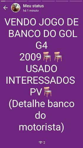 vendo jogo de banco gol g4 2009