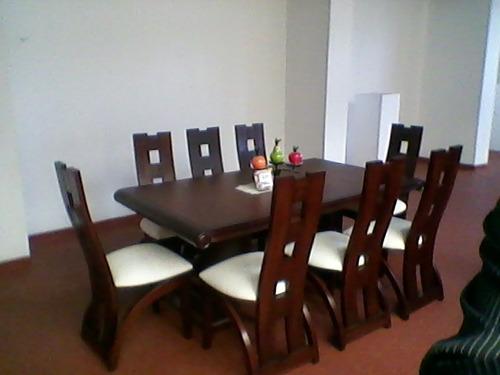 vendo juego de comedor nuevo de 8 sillas exclusivo