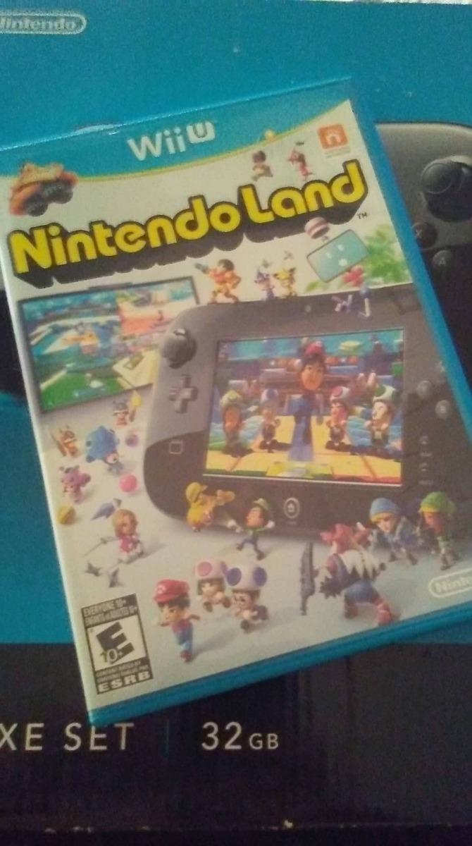 Vendo Juego Nintendo Land Para Wii U Practicamente Nuevo Bs