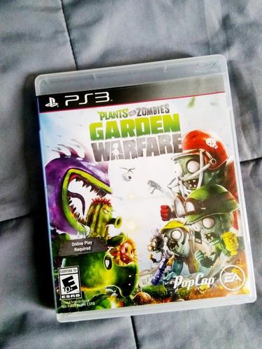 vendo juego ps3 - plants vs zombies: garden warfare