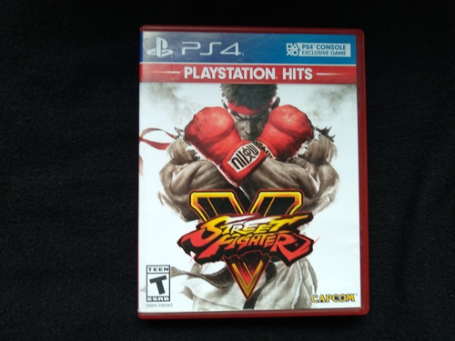 vendo juego street fighter 5 ps4