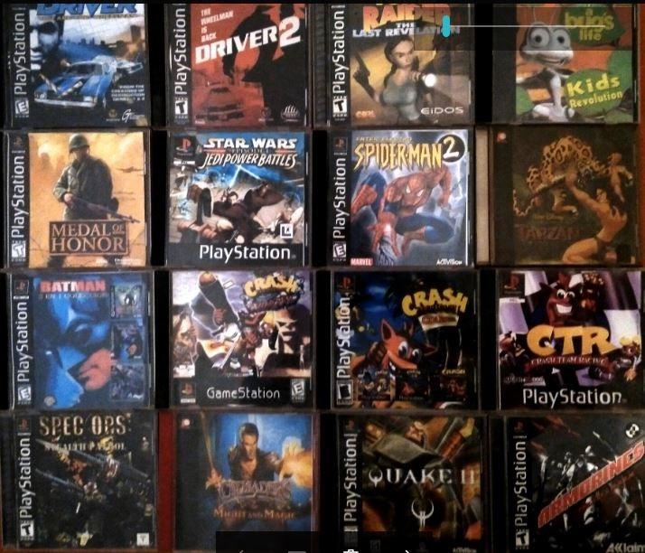 Vendo Juegos Para Playstation 1 110 00 En Mercado Libre