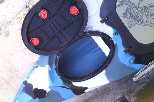 vendo kayak + ecosonda + carro porta kayak.