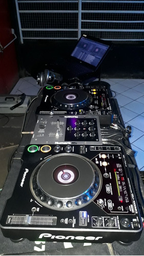 vendo  kit  pionner 1000 mk3 mais  mixer numark