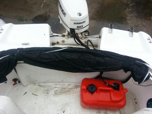 vendo lancha pescadora casi 0 km super completa