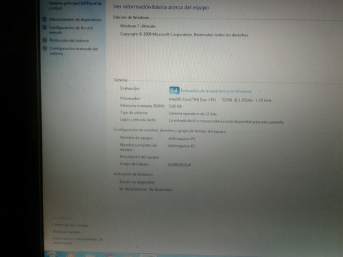 vendo laptop dell inspiron 9400 full operativa