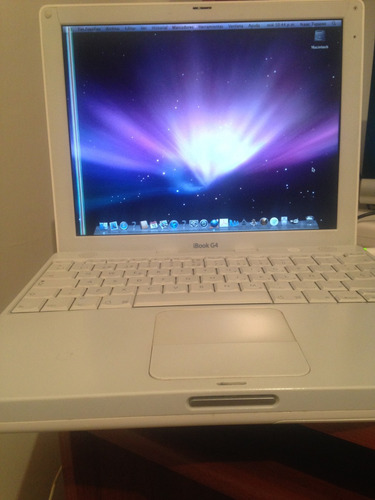vendo laptop ibook g4 única12 pulg con 1.42 ghz negociable