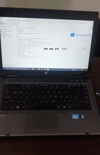 vendo  laptop probook 6440b