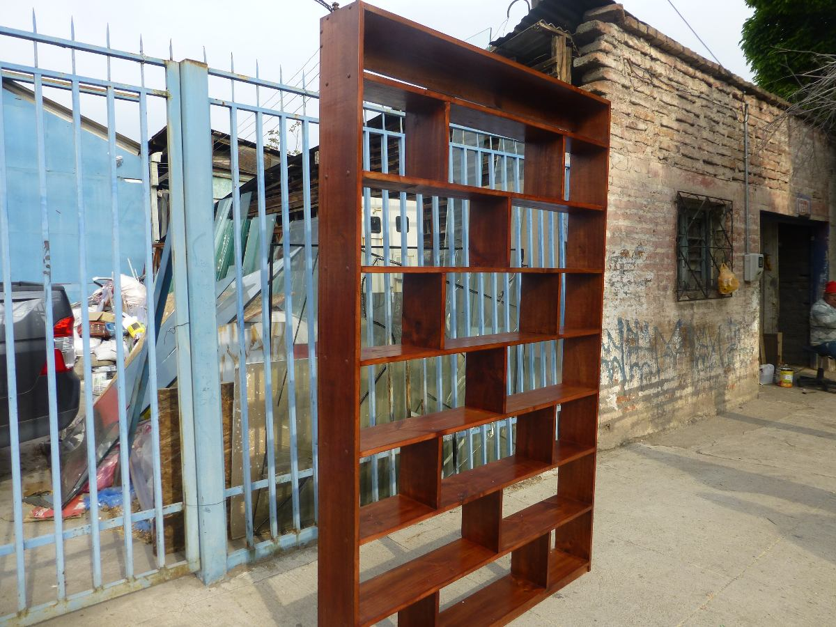 Vendo librero de madera en mercado libre for Vendo bar de madera