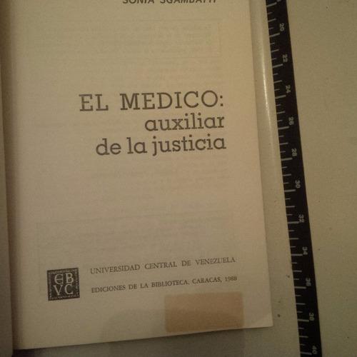 vendo libro  el medico auxiliar de la justicia