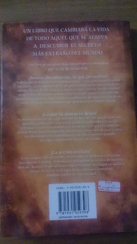vendo libro fisico la ley de la atracción dr camilo cruz