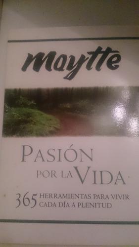 vendo libro fisico mayte pasión por la vida