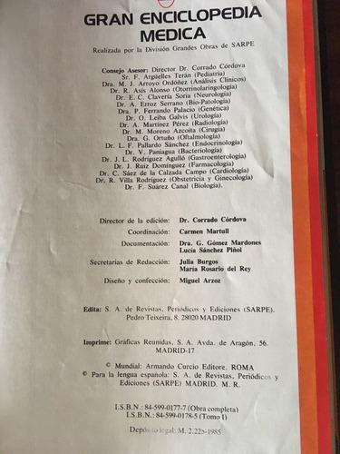 vendo libro gran enciclopedia médica biblioteca alcar 1985