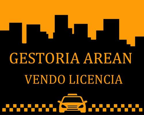 vendo licencia de taxi capital federal 2012