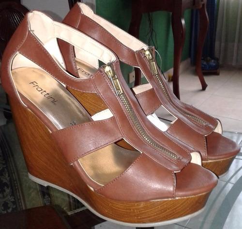 vendo lindas sandalias nuevas talla 38-39 marca frattini