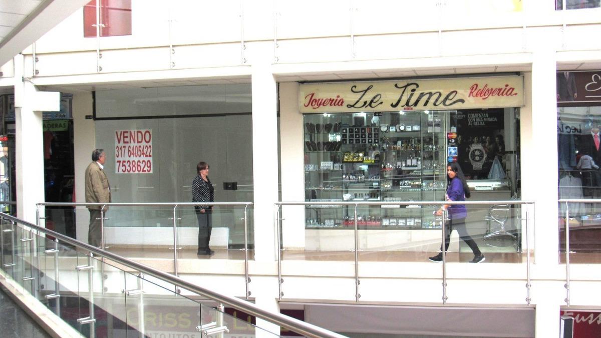 vendo lindo local remodelado en centro comercial centro suba