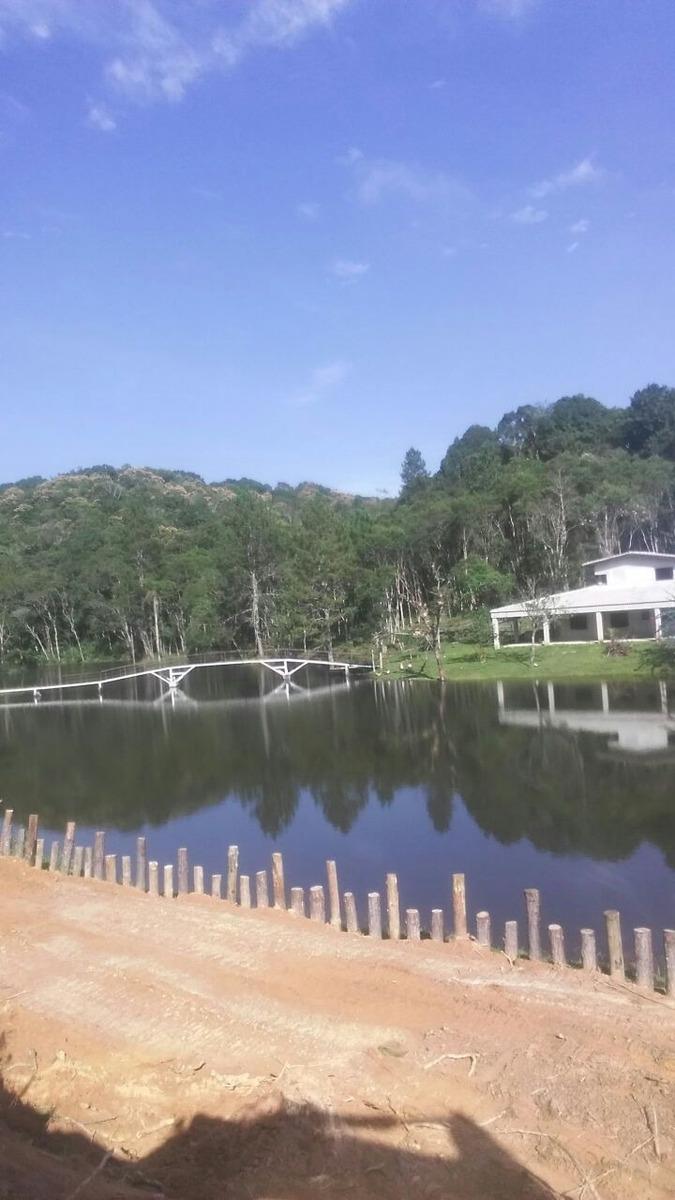 vendo lindo sitio com 4 lagoas