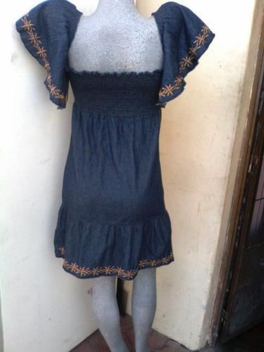 vendo lindo vestido en chambray