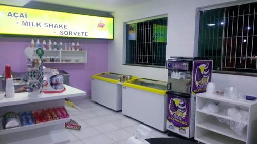 vendo loja de açaí e sorvetes