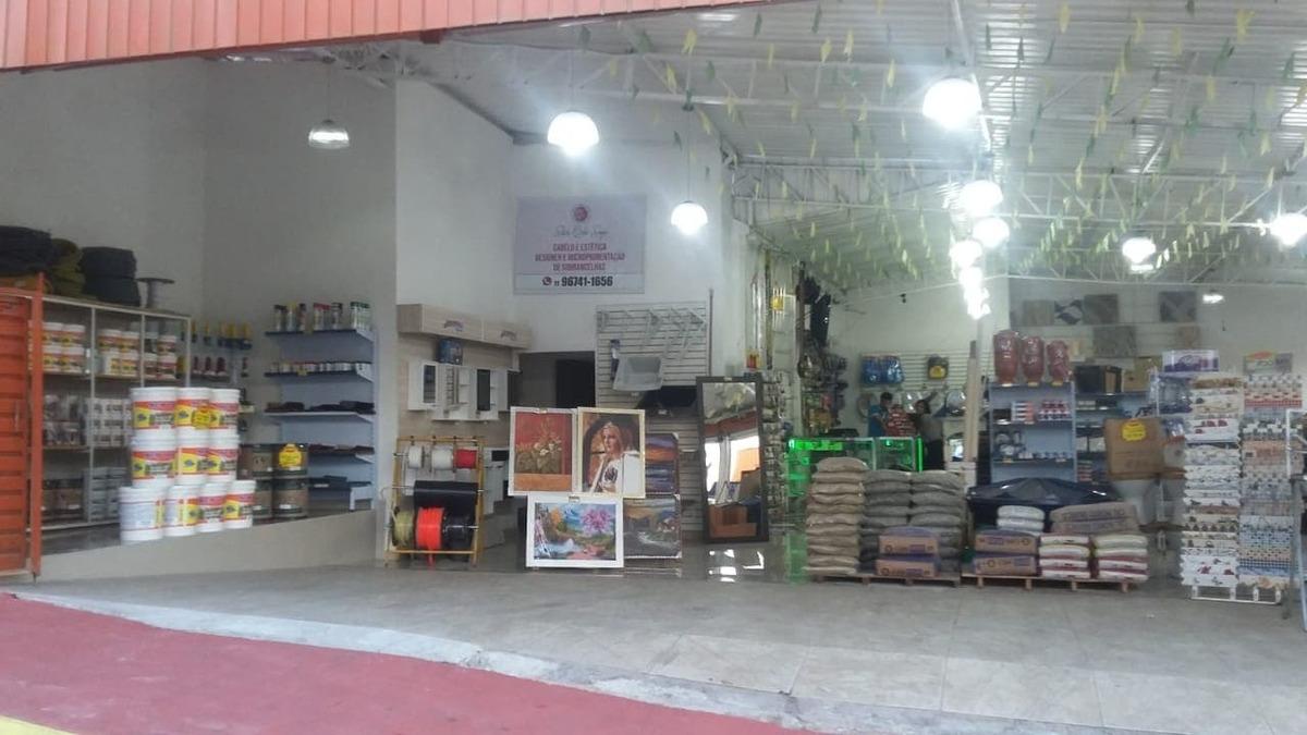 vendo loja de material para contrução ou aceito socio