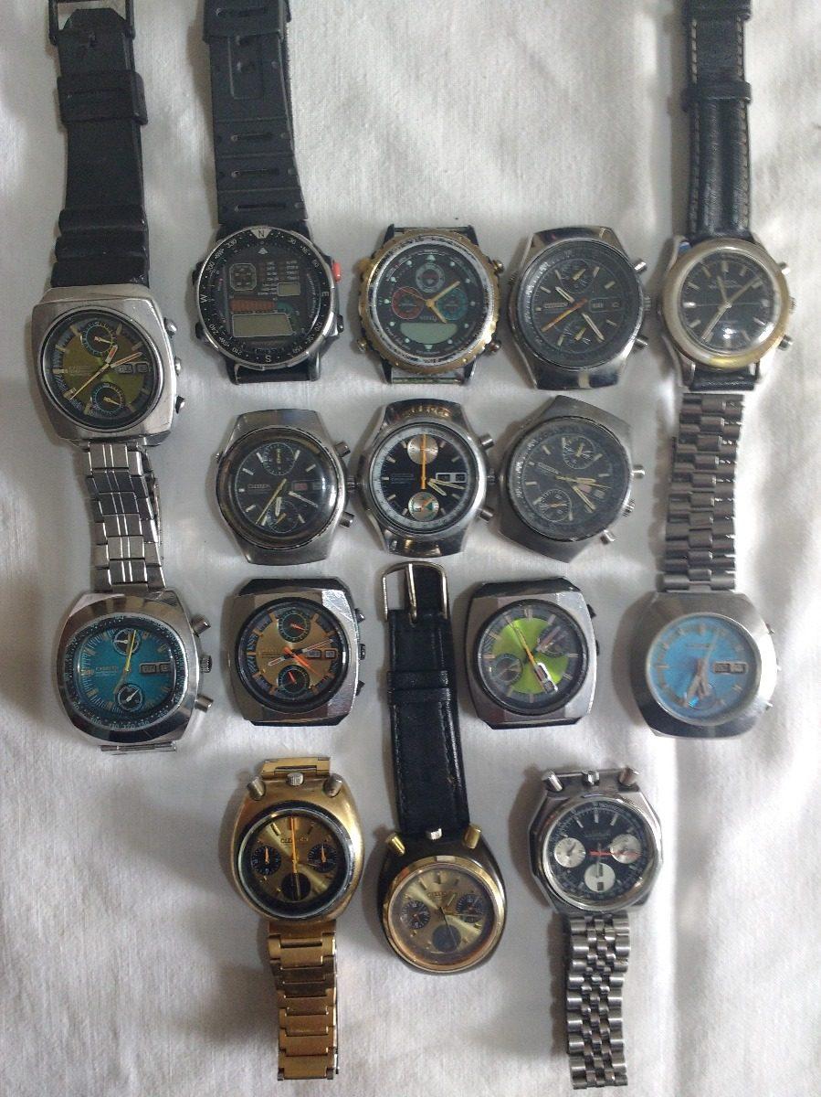 d908a5f360bc vendo lote 15 relojes cronometro citizen. Cargando zoom.