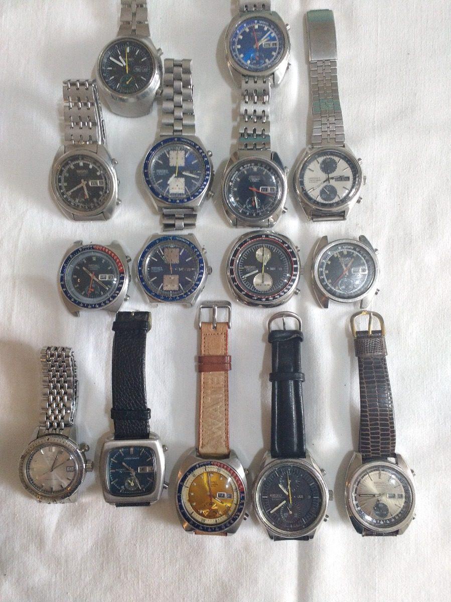 84c7ae85066f vendo lote de 15 relojes seiko cronometro. Cargando zoom.