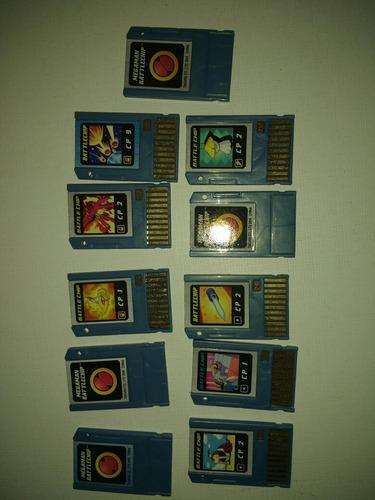 vendo lote de cartões battle chip megaman