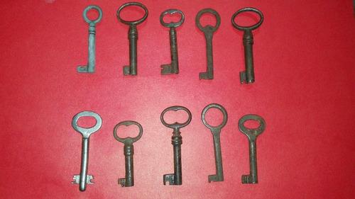 vendo lote de llaves antiguas