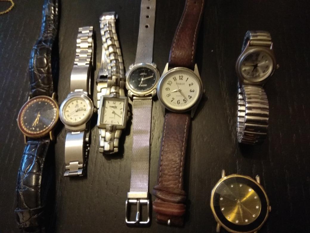 6e86e3e12c84 vendo lote de relojes usados. Cargando zoom.
