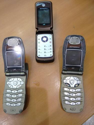 vendo lote de três celulares que não funcionam.