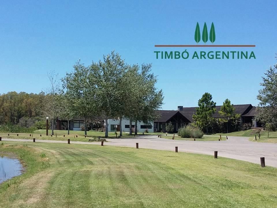 vendo lote en campo timbo - oliveros - cancha de golf y spa