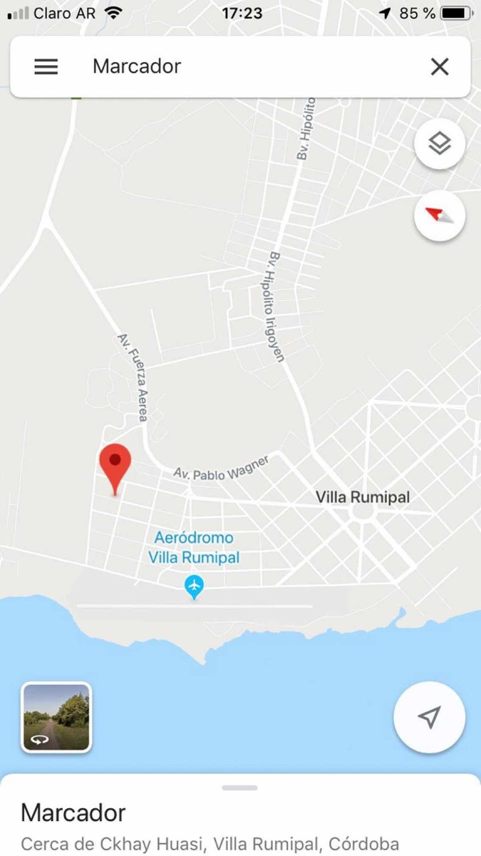 vendo lote en villa rumipal