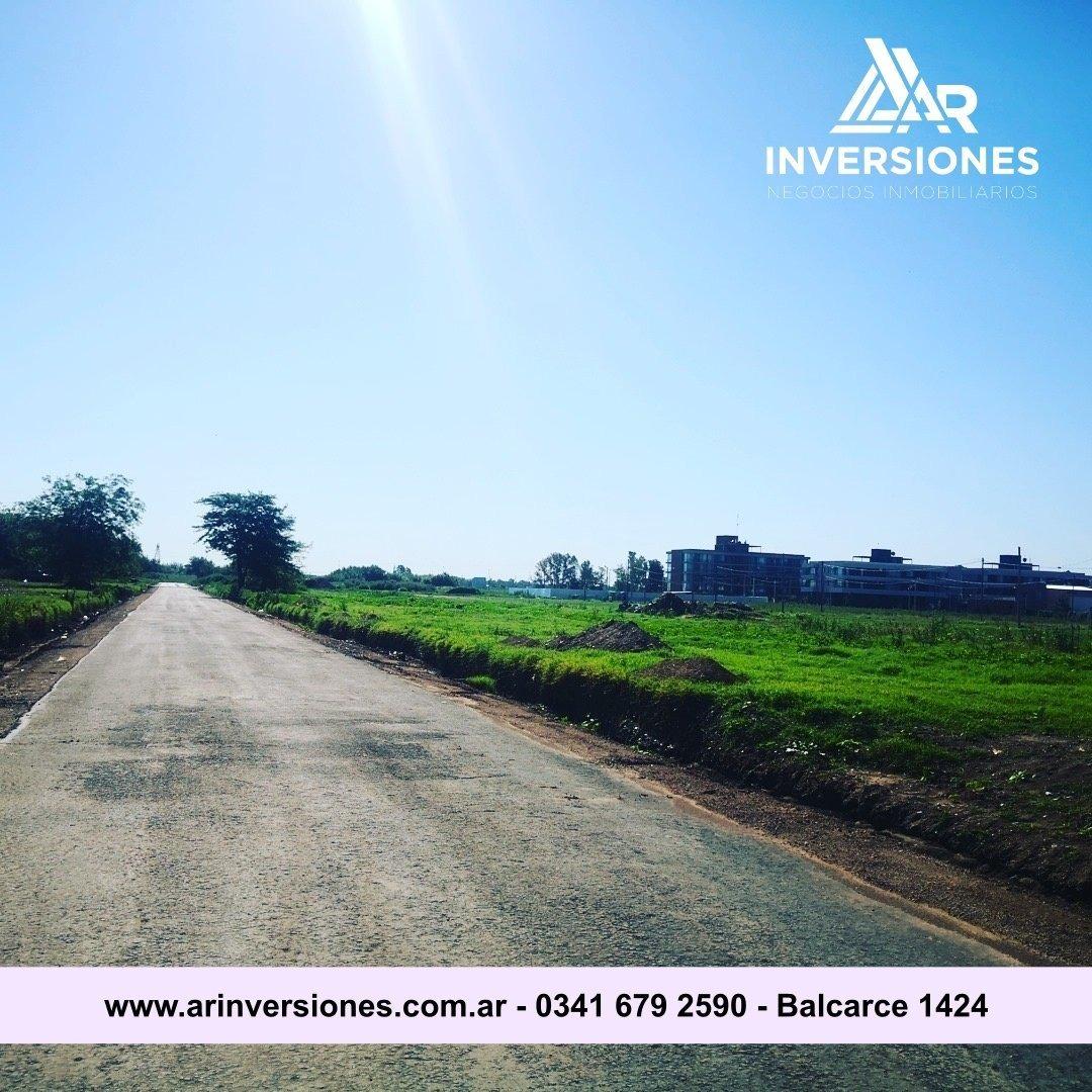 vendo lote terreno fisherton barrio ugarteche 344m2 usd34.400