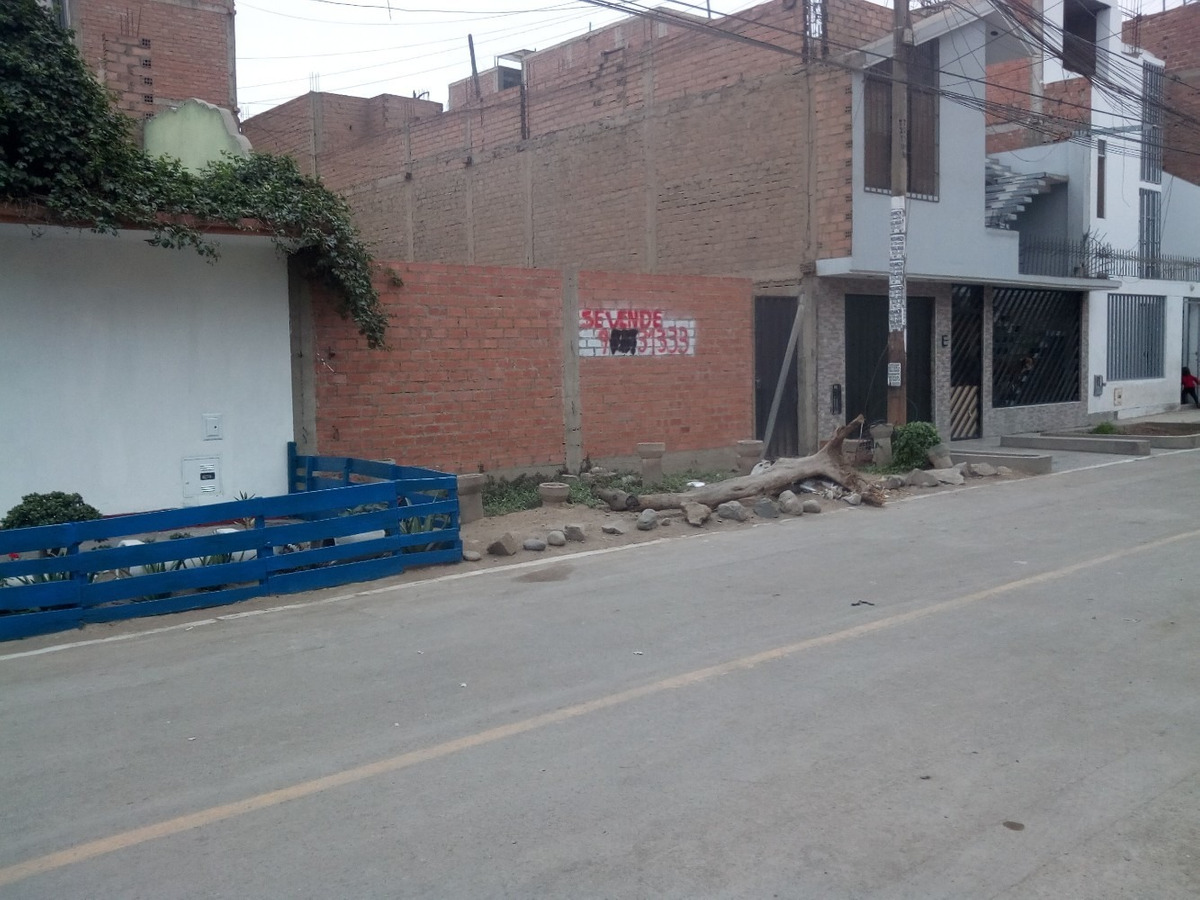 vendo lote urb. coopip [cruce sta. rosa y dominicos] - smp