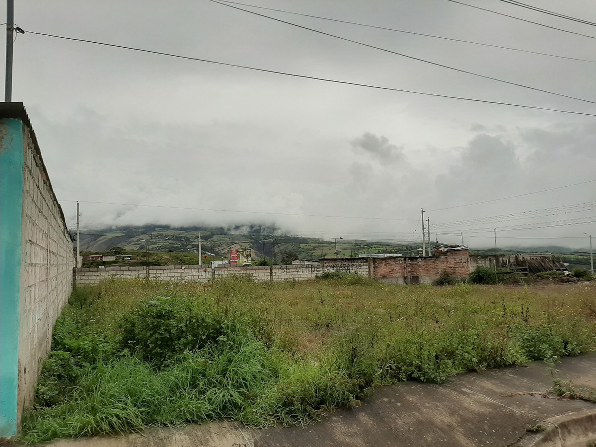 vendo lote urbanizado urcuquí 500 metros cuadrados